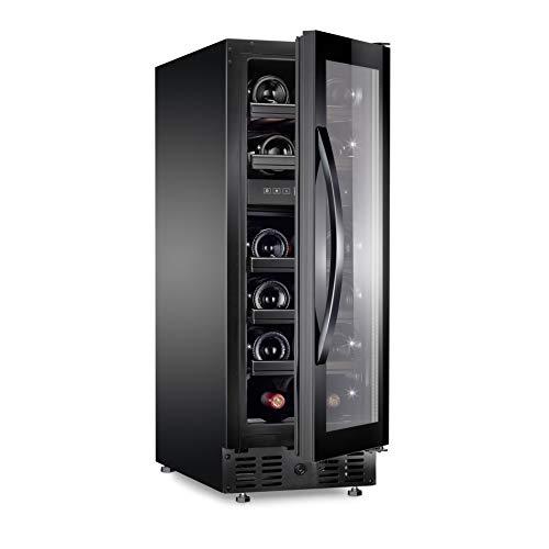 Dometic MaCave S117FG - Weinschrank, 117 Flaschen, Weinkühlschrank mit zwei Temperaturzonen und Glastür, freistehend oder als Einbau-Gerät