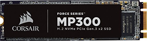 Corsair Force MP300 960 GB M.2 PCIe Gen. 3 x2 NVMe-SSD (bis zu 1,600 MB/s)