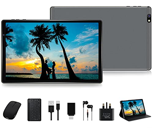 FACETEL Tablet 10 Inch Android 10 Pro Tablet PC Octa-Core Processor 1.6GHz 4GB + 64GB Expand 128GB,...
