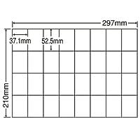 東洋印刷 シートカットラベル A4版 32面付 C32U
