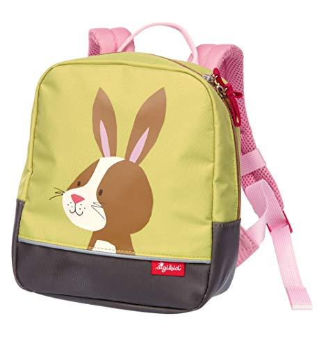 SIGIKID Mädchen, Kinder-Rucksack mit Tiermotiv Hase Forest, empfohlen für 2-5 Jährige, grün, 25122