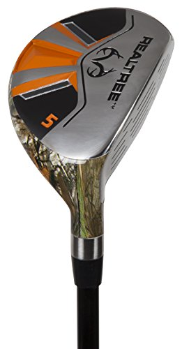 Pinemeadow Golf Men's Realtree Xtra Hybrid Club, Graphite, 5, 25-Degree, Regular, Right Hand