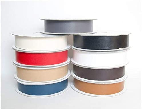 Minerva Crafts Faux Leather Bias Binding - High Excellence material metres Tape 3 per
