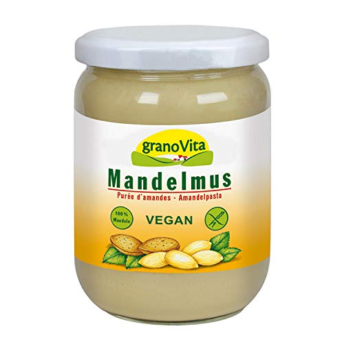 granoVita cremiges Mandelmus 500g