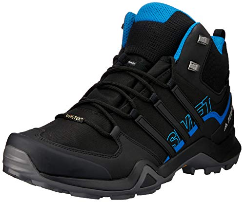 Adidas Terrex Swift R2 Mid GTX, Zapatillas de Marcha Nórdica para Hombre, Negro (Core BlackCore BlackCore Black 0), 46 EU