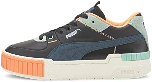 PUMA Womens Cali Sport Mix Lace Up Sneakers Shoes Casual - Black - Size 9.5 B