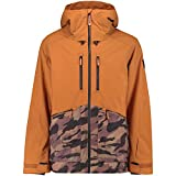 Best O'Neill Snow Jackets - O'Neill Snow Men's Texture Jacket P.70, Glazed Ginger Review