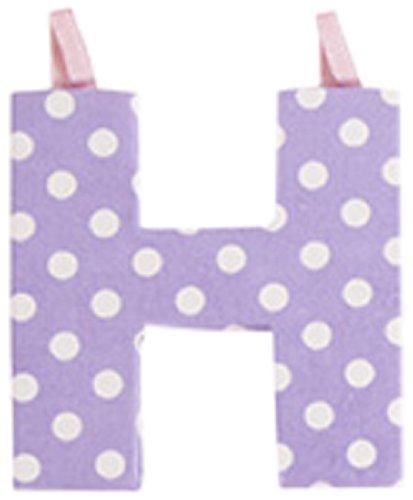 JoJo Maman Bébé - Lettre H en Tissu Couleur Pastel