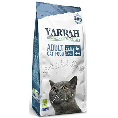 Yarrah Bio Katzentrockenfutter mit MSC Hering, 1er Pack (1 x 2.4 kg)