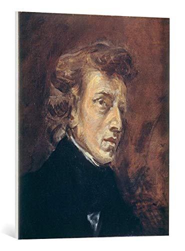 Kunst für Alle Cuadro en Lienzo: Eugène Delacroix Chopin Paint by Delacroix 1838