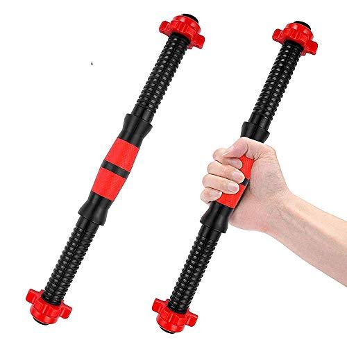 2PCS Barras de Mancuernas de 40 cm con 4 Collares Accesorios de Levantamiento de Pesas para Mancuernas de Gimnasio Entrenamiento de Fuerza Entrenamiento Equipo de Fitness