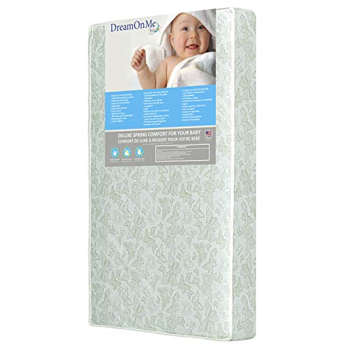 Dream On Me 2 in 1 Foam Core Crib and Toddler Bed...