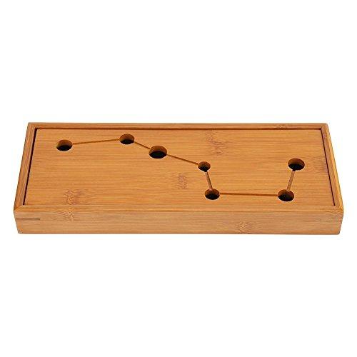 Fdit Tee Tablett Bambus Neu Gongfu Tisch Tablett Chinesisch Klassischer Kungfu Tee Servierplatte Grüner Oolong Teekanne Trivets Cup Platte