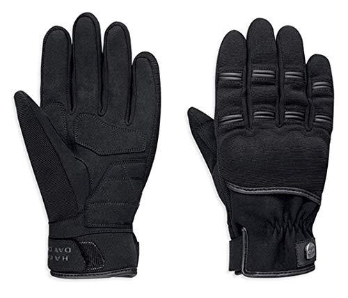 HARLEY-DAVIDSON Herren Motorrad Handschuhe Bikerhandschuhe Sarona, L