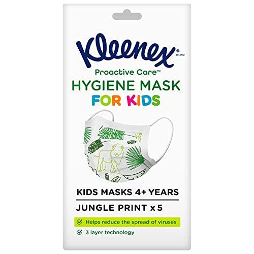 Kleenex Mascarilla Higiénica Infantil (5 unidades)