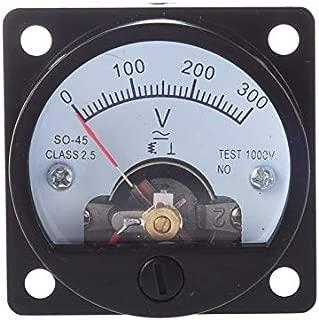New Design Ac 0 300v Round Analog Dial Panel Meter Voltmeter Gauge Black, Round Panel Meter - Analog Meter, Analog Panel Meter Round, Analog Voltmeter Panel, Round Analog Meter, Round Panel Meter