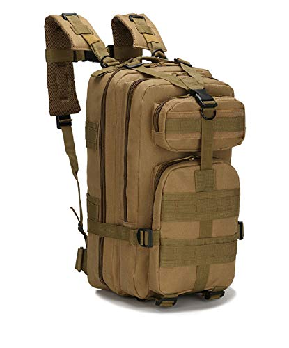 25L Military Tactical Backpack Large Army Assault Pack Molle Shoulder Bag Rucksacks Daypack for Outdoor Hiking Camping Trekking Hunting