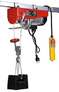 COAMER PA 800 Polipasto eléctrico (400/800 kg), 800 Kg