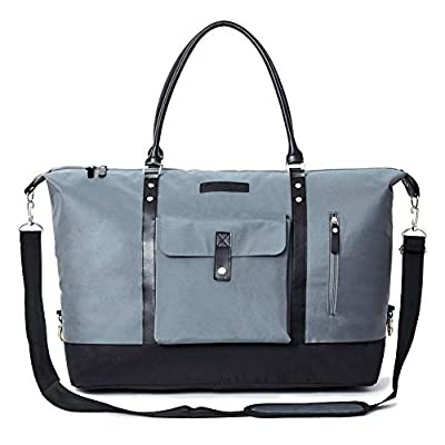 Amazon - 10% Off on 56L Travel Tote Duffle Bag with Shoe Bag Weekender Overnight Bag