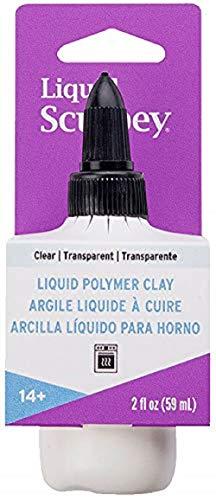 Sculpey Polyform Liquid Clay 2oz Clear
