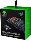 Razer PBT Keycap Set für Gaming Keyboards - Tastenkappen-Upgrade-Set für mechanische und optische Tastaturen (Hintergrundbeleuchtungskompatibilität, Überlegenes PBT-Material) Grün