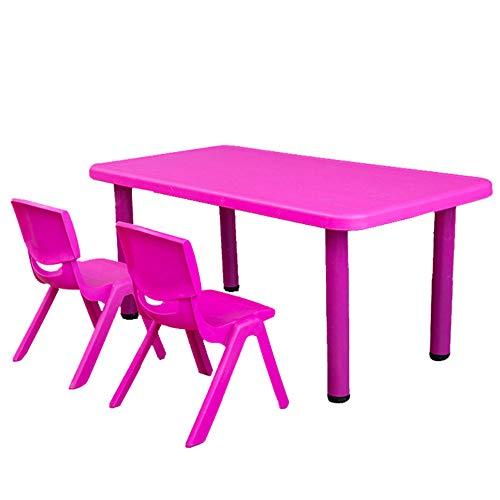 Preisvergleich Produktbild GYiYi Kids Activity Table Set,  Esstisch / Schreibtisch / Spieltisch Für Kinder,  Eine Vielzahl Von Farben Zur Auswahl,  Tische Und Stühle Für Die FrüHkindliche Bildung