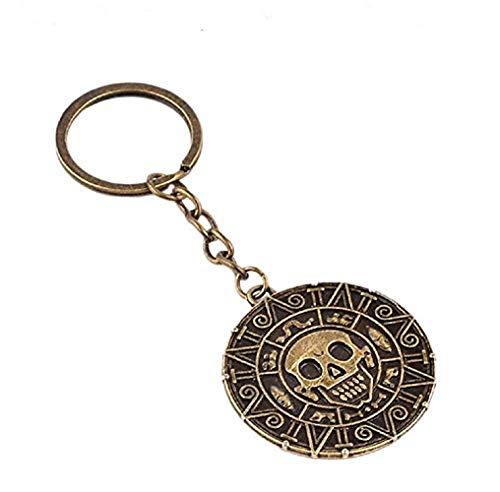 Inception Pro Infinite Porte-clé (bronze) - Hommes - Femmes - Unisexe - Pirate des Caraïbes - Film célèbre - Idée cadeau - Cosplay