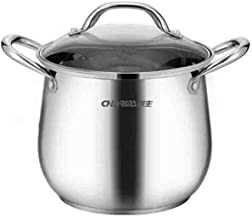 XSWY Soup pot, cooker pot, 304 stainless steel pot, large capacity thickening complex, induction cooker gas and gas univer...