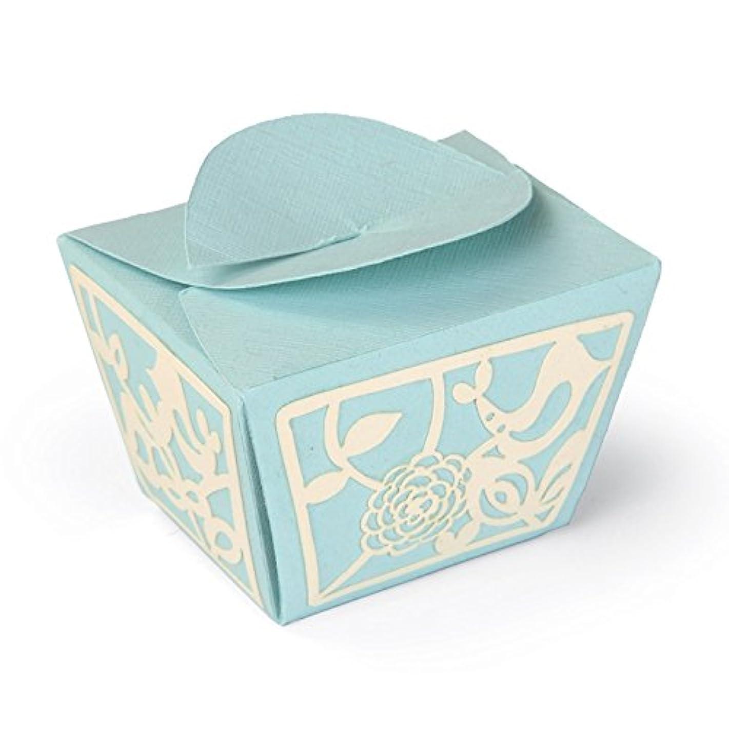 Sizzix Thinlits Plus Die Set 3PK-Love Birds Gift Box by Emily Atherton