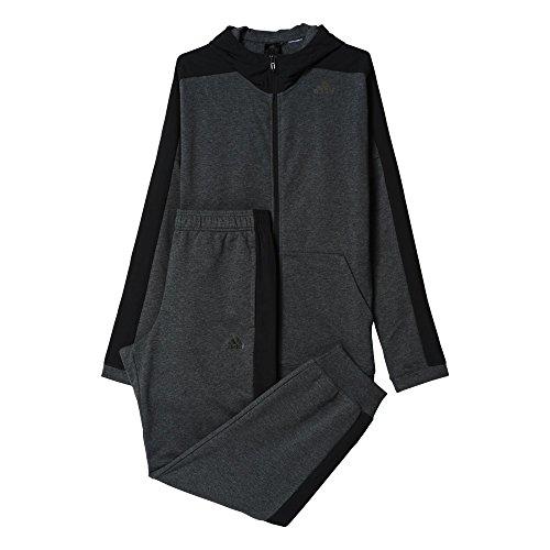 Adidas TS Ho Jo Survêtement Homme, Gris/Noir, FR : S (Taille Fabricant : 162)