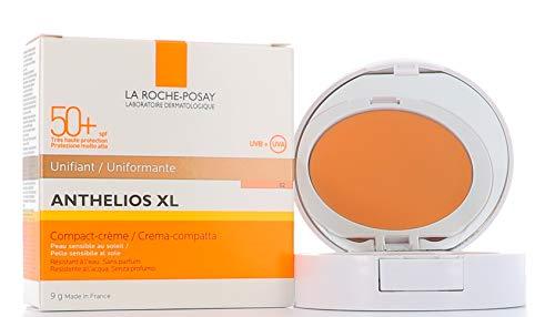 La Roche Posay Anthelios - Unificador Compacto, Crema Piel Sensible, 02 Tono Dorado SPF50+, 9 gr