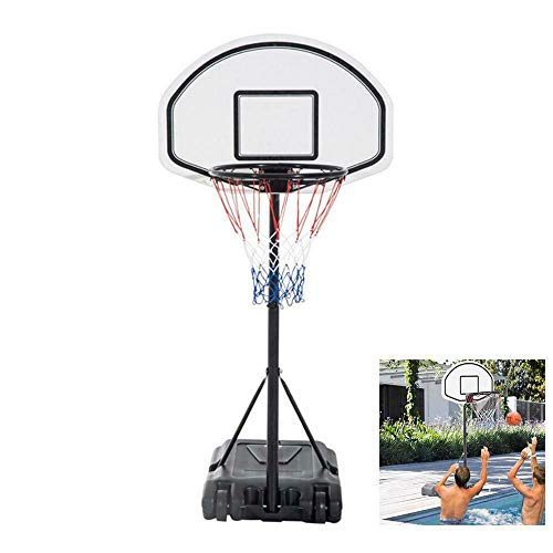 Why Should You Buy Enjoy Play Swimming Water Game Basketball Stand Hoop Goal Move Indoor Outdoor Spo...