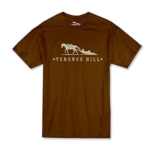 Terence Hill T-Shirt Official Logo (braun) (L)