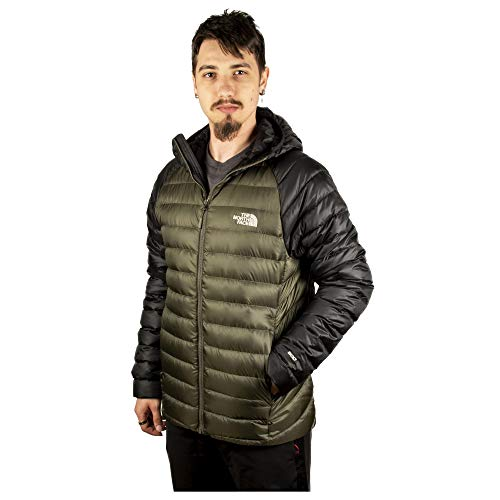The North Face M Trevail Chaqueta De Plumón, Hombre, New Taupe Green, L