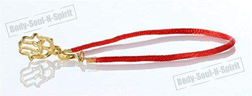 Color rojo y Negro pulsera de del encanto de las cuerdas de la suerte