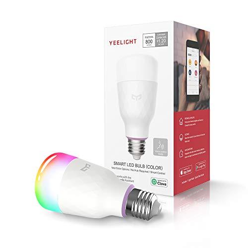 Amazon - Xiaomi Yeelight Smart Bulb RGBW - E26 AC110V