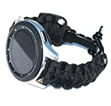 Olytop for Galaxy Watch 3 45mm Bands/46mm Bands/Gear S3 Frontier Bands, 22mm Quick Release Sport Outdoor Nylon Strap Replacement Wristband Bracelet for Samsung Galaxy Watch 46mm / Gear S3 Smartwatch