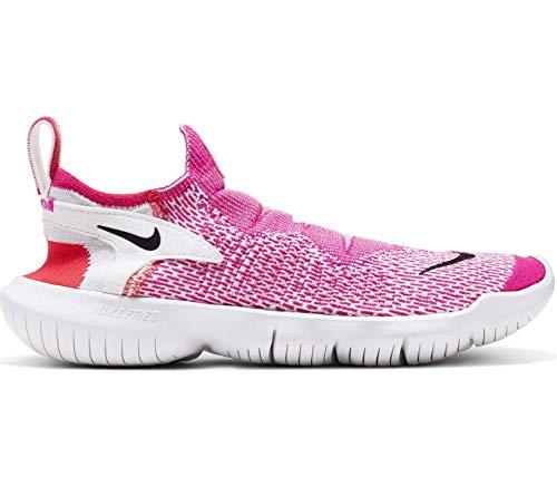 Nike Mujeres Free RN Flyknit 3.0 2020 Running Trainers Cj0627 Zapatillas de deporte Zapatos, color Gris, talla 38.5 EU