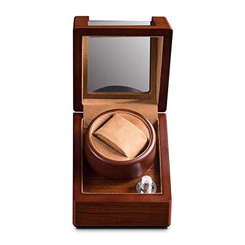 smzzz Heimwerker Automatischer Uhrenbeweger Einzelner Uhrenbeweger Batterie Kunststoff Transparentes Fenster ist umweltfreundlich und