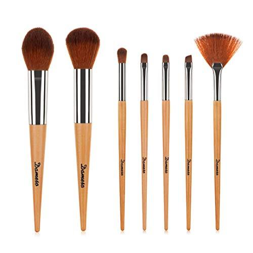 Makeup Pinsel Set, 7pcs Dameso Professionelles Schminkpinsel Kosmetikpinsel Lidschatten...