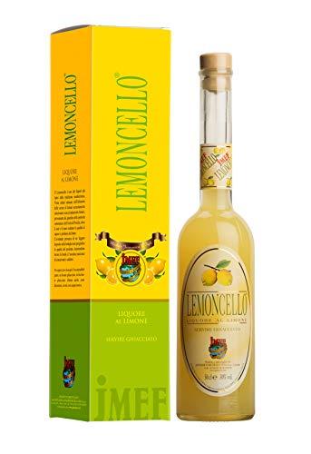 Distilleria Jannamico Lemoncello- Reichhaltiger und vollmundiger italienischer Premium Limoncello - Zitronenlikör Liköre (1 x Bottle), 0,5 l