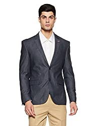 LP Louis Philippe Mens Slim Fit Blazer