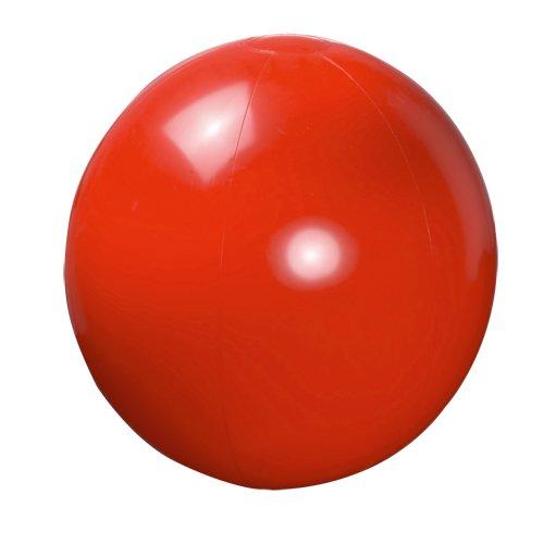Ballon de plage en PVC uni 40 cm