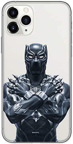Original & Offiziell lizenziertes Marvel Schwarzer Panther Handyhülle für iPhone 11 PRO MAX, Hülle, Hülle, Cover aus Kunststoff TPU-Silikon, schützt vor Stößen & Kratzern