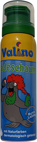 Valino Badeschaum Grün, 6er Pack (6 x 75 ml)