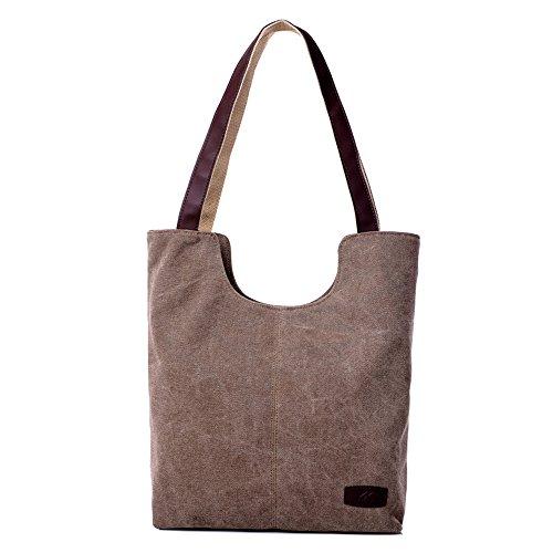 BYD - Donna School Bag Borse Tote Bag Travel Bag U Style Canvas Bag Borse a mano Borse a spalla Shopping Bag