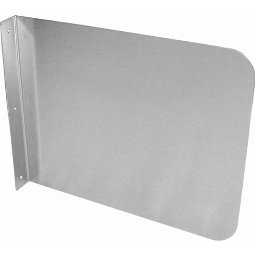 ACE Stainless Steel Wall Mount Splash Guard for Commercial Restaurant Hand Sink and Compartment Prep Sink, NSF Certified (15