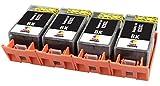 TONER EXPERTE® 4 XL Schwarz Druckerpatronen Ersatz für HP 920 920XL CD975AE kompatibel für HP Officejet 6000 6500 6500A 7000 7500A E609a E609n E709a | hohe Kapazität