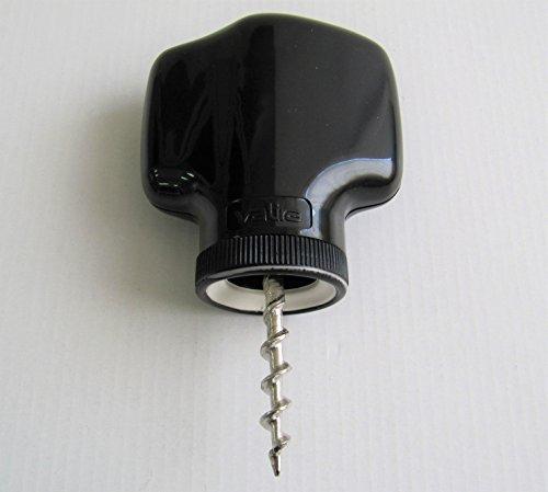 ANGOPE Sacacorchos Automático - Saca corchos Vino Color Negro - descorchador sin esfuerzos, facil de Usar y eficaz