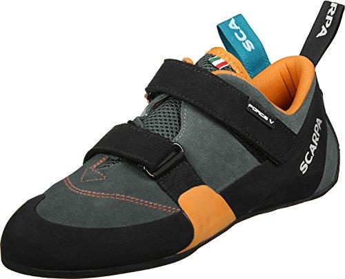 Scarpa Force V Kletterschuhe Herren mangroove/Papaya Schuhgröße EU 46,5 2020 Boulderschuhe